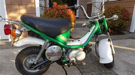 1978 Yamaha LB80 Chappy with Collector Plates — Moped Army