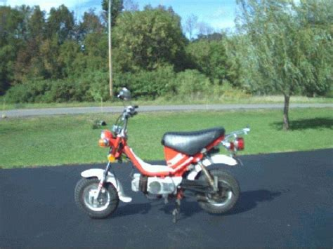 1978 Yamaha LB80 Chappy, Red | Moped Photos — Moped Army