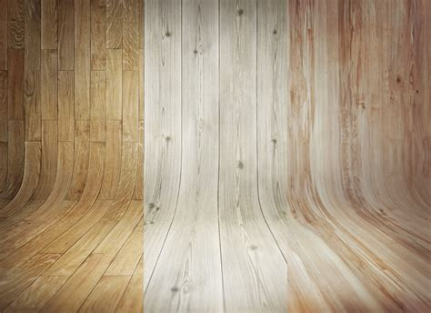 3 Curved Wooden Backdrops Vol