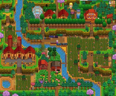 My updated Hilltop farm, in the spring of year 5! in 2020