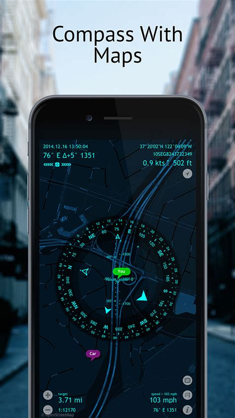 Spyglass – Best Augmented Reality Compass, Maps and GPS