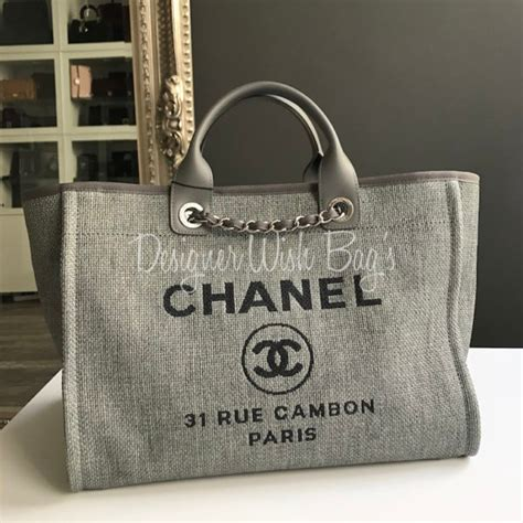 Chanel Deauville Tote Bag - New!
