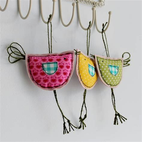 spring hanging birdy decoration by honeypips